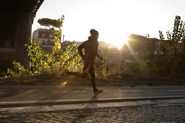 Бег ранним утром