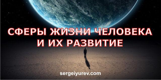 Главные сферы жизни человека
