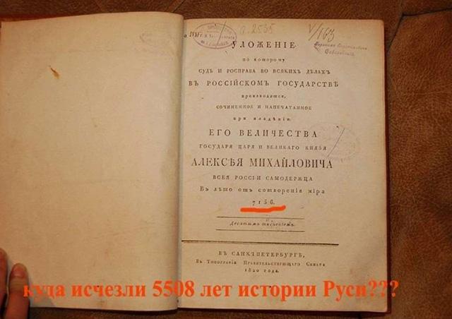 Даты древнерусского календаря в книгах
